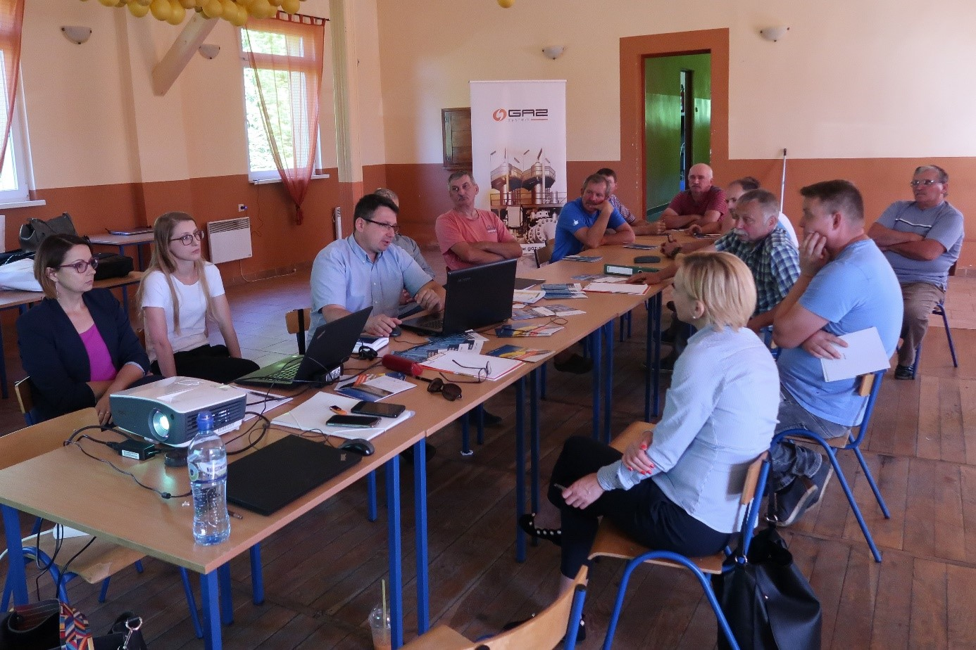 Spotkanie konsultacyjne w m. Poczernin, Gmina Stargard 2, 07.06.2018.